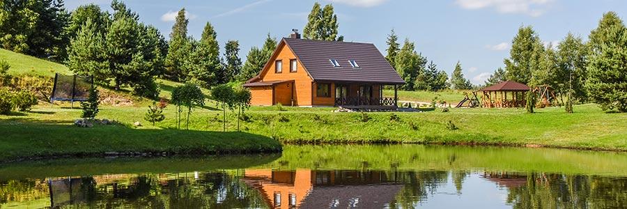 Дом с залом, баней и спальнями